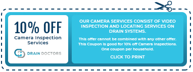 10% Off Camera Inspection Services