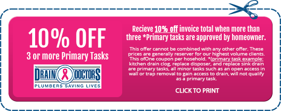 10% Off invoice with more than three primary tasks